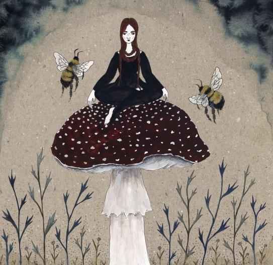 Mushroom&Bees