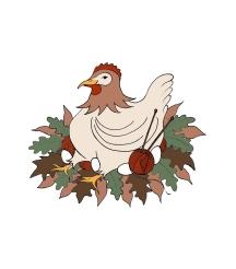 Logo for Ninja Chickens (2017)