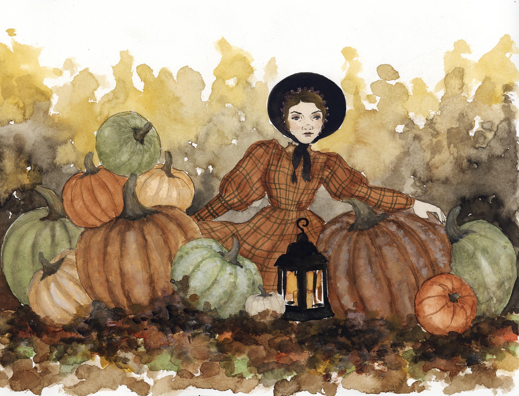 AmongthePumpkins